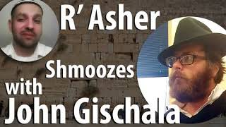 R' Asher shmoozes with John Gischala