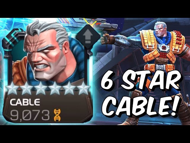 6 Star Cable Level Up & Gameplay! - Revisiting Cable 2019 - Marvel Contest of Champions