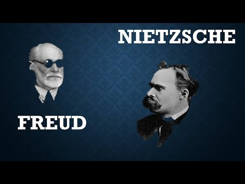 a comparison of friedrich nietzsche and sigmund freud Sigmund freud master of psychoanalytic psexiness where nietzsche saw the will to power and marx saw dollar signs (or, to be specific, pounds sterling signs), freud saw sex, like, everywhere —and he thought it was responsible for just about every conceivable aspect of human behavior.