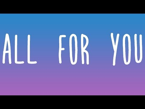 Years & Years - All For You Lyrics