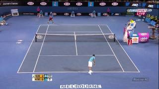 Federer vs Hewitt Australian Open 2010 highlights HD
