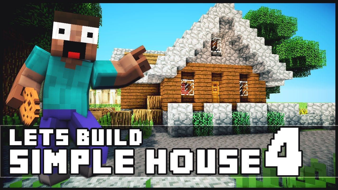 Minecraft How To Build a Simple Starter House 4 YouTube