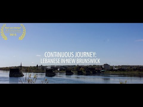 Continuous Journey - Lebanese in New Brunswick
