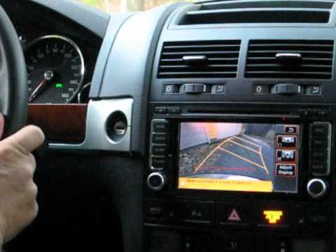 Demonstration Of The Rns 510 Gps Backup Camera That Moves