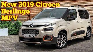 Amazing New 2019 Citroen Berlingo Passenger & Van Cars/ Review