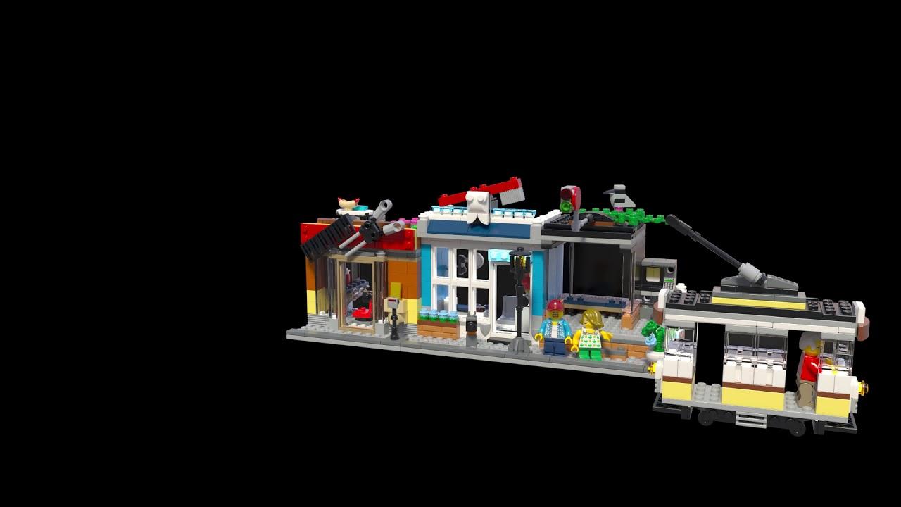 Ongebruikt LEGO 31097 Creator 3in1 Woonhuis, dierenwinkel & café @2TTOYS VE-98