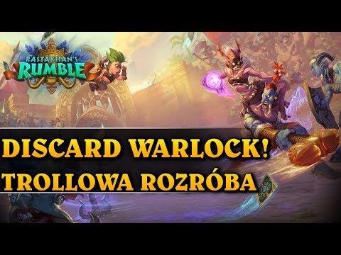 DISCARD WARLOCK! - TROLLOWA ROZRÓBA - Rastakhan's Rumble