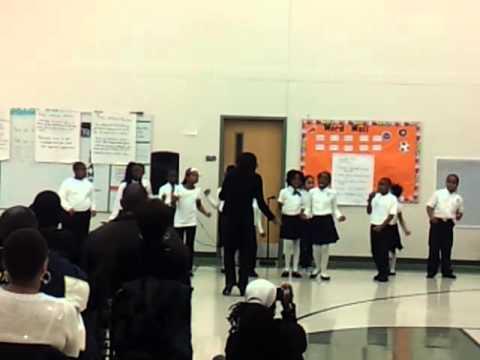 "Atlanta Heights Charter School Black History Program - ""Wade in the Water"""