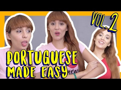 Learn Portuguese Vocabulary | Portuguese Made Easy Vol. 2