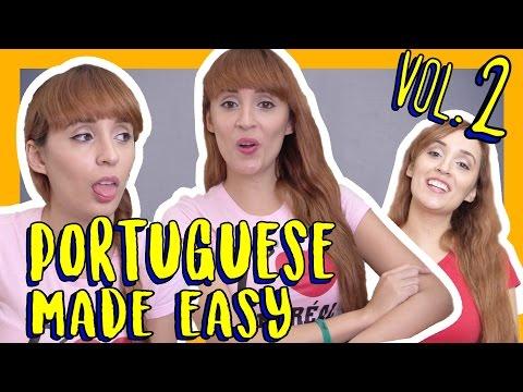 Learn Portuguese Vocabulary  Portuguese Made Easy Vol 2