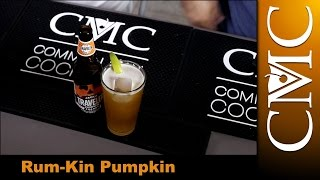 The Rum-Kin Pumpkin Cocktail with Jack O Traveler