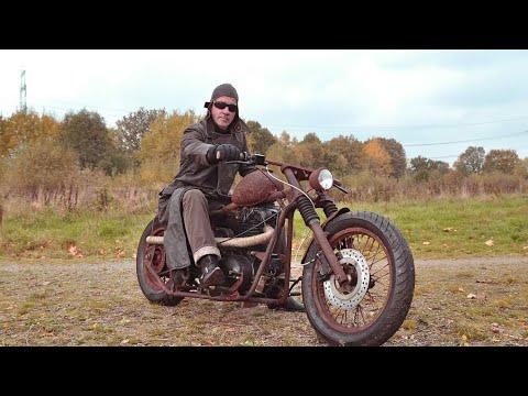Vintage Old Time Bobber Motorcycles