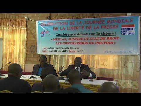 Togo, FAIBLE ÉVOLUTION DE LA LIBERTÉ DE LA PRESSE