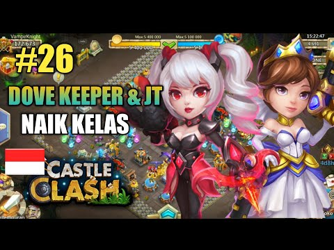 Castle Clash | Episode 26 - Max Skill Dove Keeper & JT (Gunslinger)