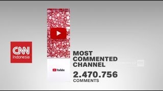 Youtube CNN Indonesia Raih Penghargaan Most Commented Channel