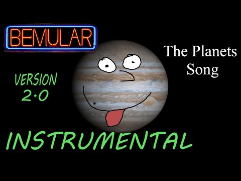Bemular - The Planets Song (instrumental) (2.0 version)