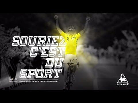 le coq sportif x le Tour de France 2014