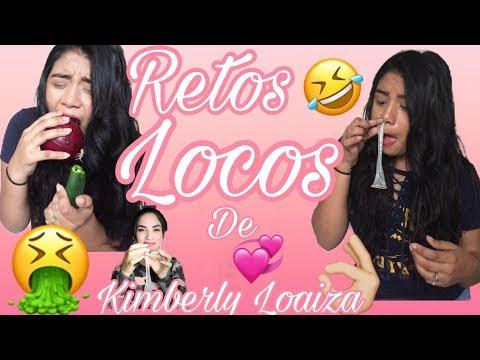 Retos Locos 🤮 De Kimberly Loaiza(Condon Por La Nariz)Karla Larios