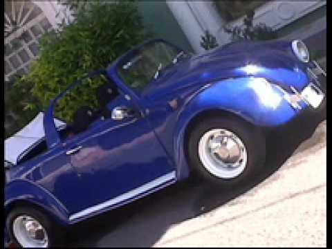 Vw Beetle Convertible >> vocho convertible mod 77º - YouTube