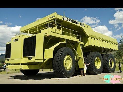 รถบรรทุกที่ใหญ่ที่สุดในโลก Big  Truck