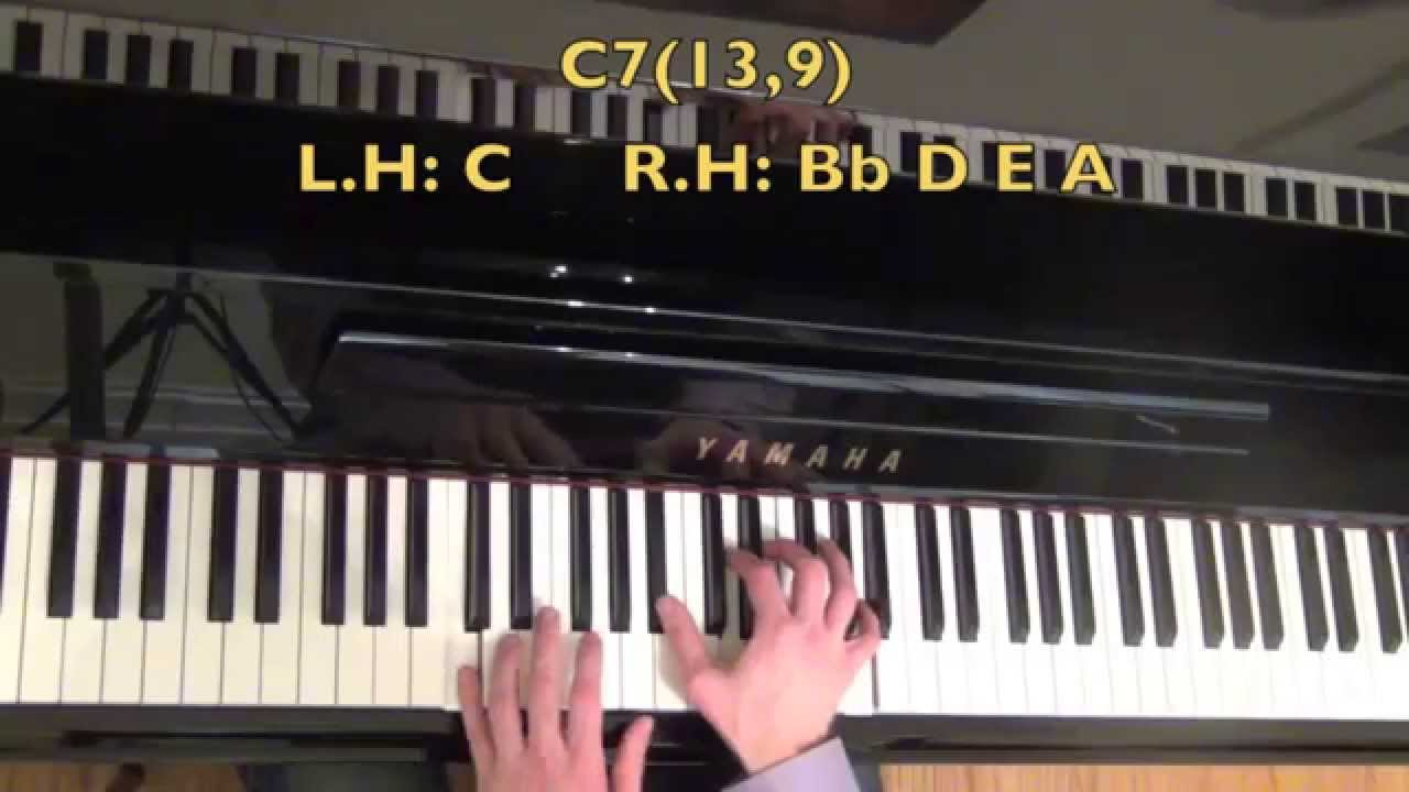 4 Totally Awesome Dominant Jazz Piano Chords - YouTube