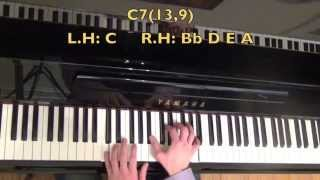 4 Totally Awesome Dominant Jazz Piano Chords Mp3