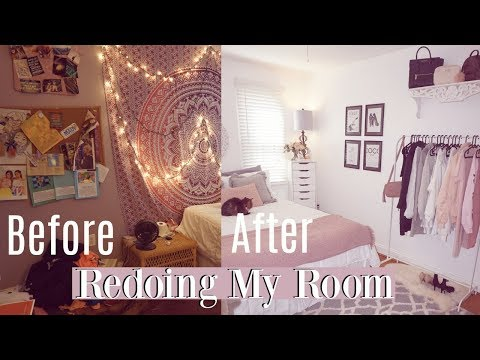 redoing my room for the first time in 8 years