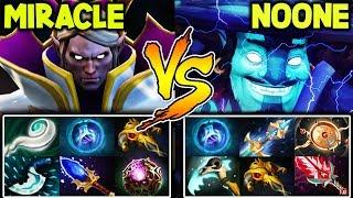 Miracle Invoker Vs Top 1 Noone Storm Spirit | Battle Of The Best Mid Laner Of The World Dota 2
