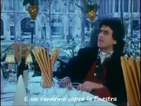 Toto Cutugno - L'italiano (video-lyrics) 1983