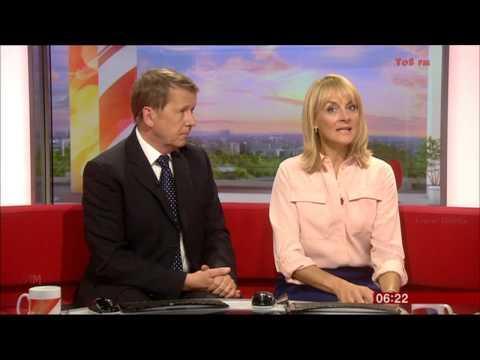 LOUISE MINCHIN:--:   BBC  Breakfast  - 17 Aug. 2015 -