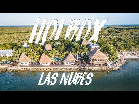 LAS NUBES, HOLBOX I MARIEL DE VIAJE. PARTE 1