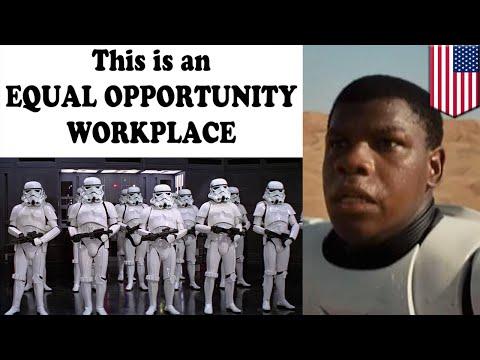 Stormtrooper negro en el trailer de la nueva película de Guerra de las Galaxias genera controversia
