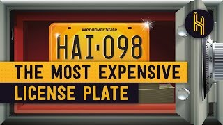The $14.3 Million World's Most Expensive License Plate