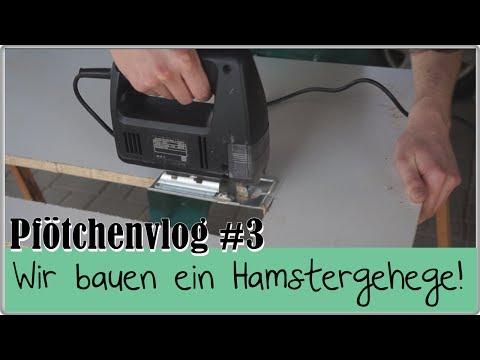 Pfötchenvlog #3    Wir bauen ein Hamstergehege!