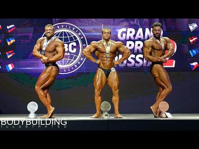 2019 GRAND PRIX Russia II, NBC — Bodybuilding up to 102 kg.