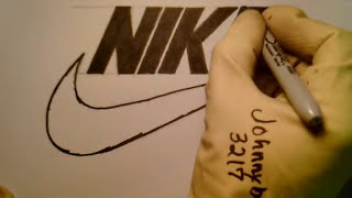 How To Draw Nike Logo Best On YouTube Perfect Swoosh Free Hand Easy NBA Step By Step #23