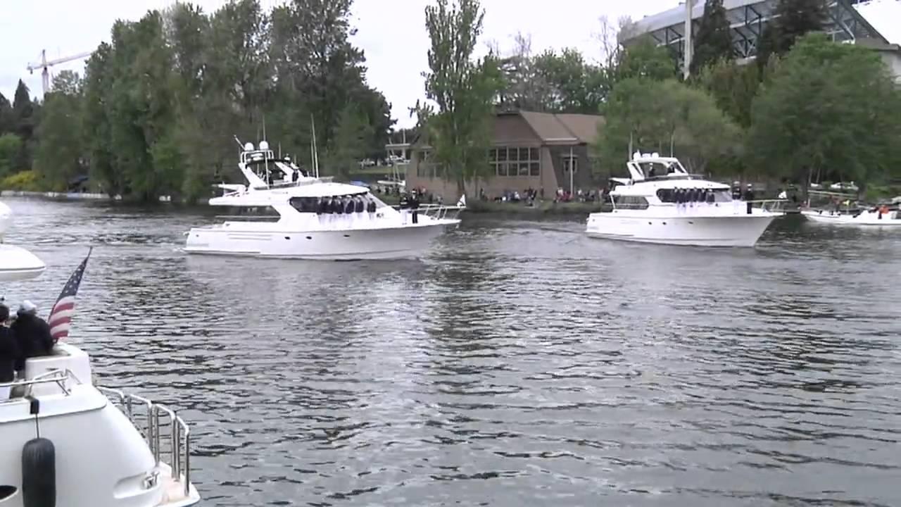 Seattle Yacht Club Opening Day Wilson Seamanship 2010 mov