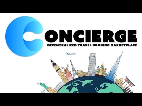 Concierge Review - Travel Booking Marketplace on NEO
