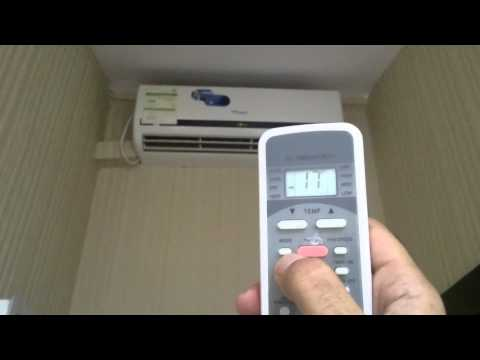 How to : Start on functioning of Super General Split AC 2 Ton / 3 ton split AC