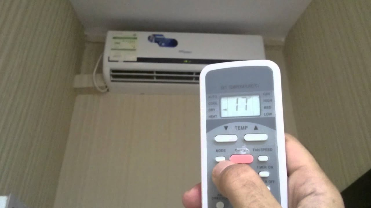 General Air Conditioners How To Start On Functioning Of Super General Split Ac 2 Ton 3