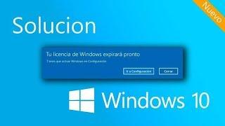 Tu Licencia de Windows Expirara Pronto (Solución 2020)