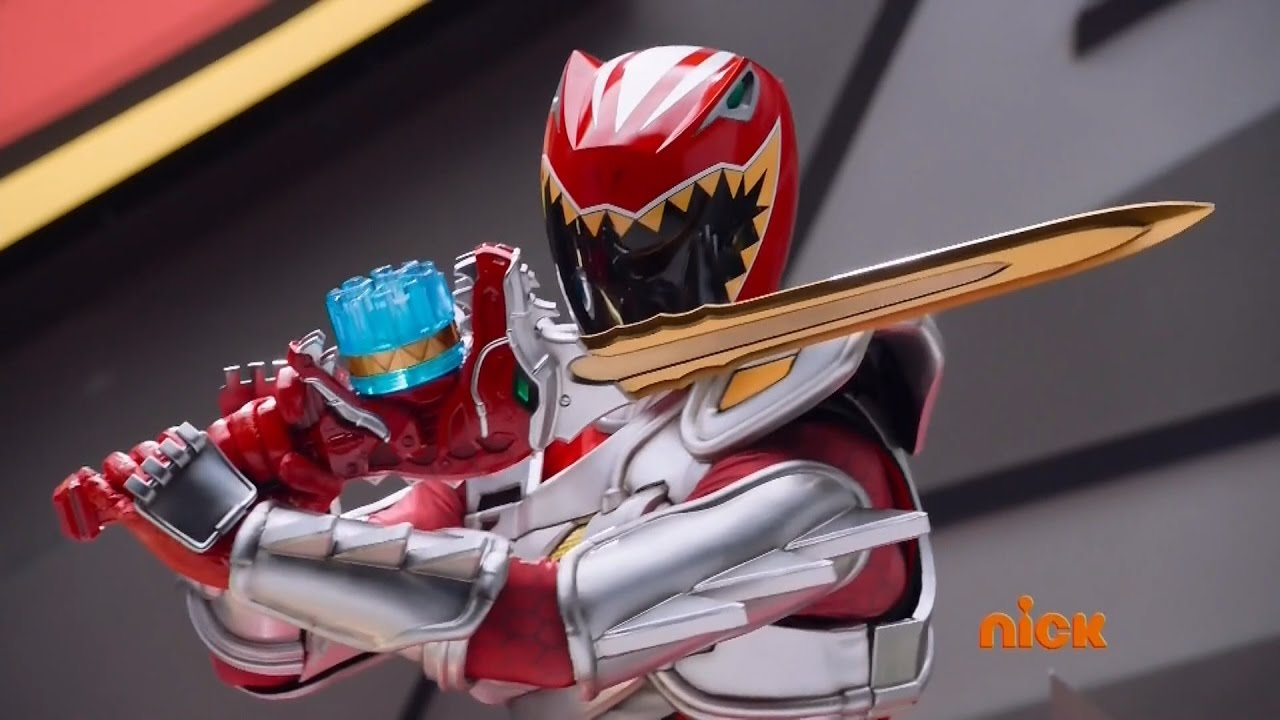 Power Rangers Dino Super Charge - Red Ranger (Episodes 1 ...