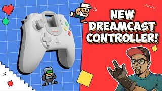 Next Gen Sega Dreamcast Controller! Coming Soon From Retro Fighters!