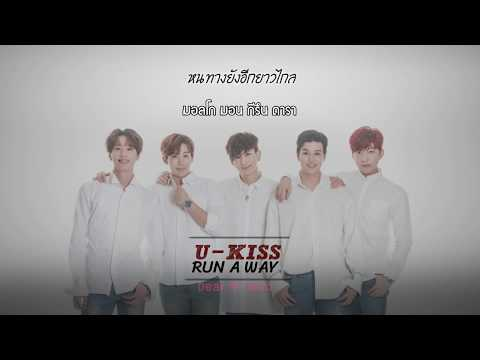 [Thai Sub] U-KISS - RUN A WAY (Manhole OST)