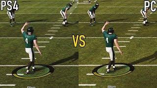 Madden NFL 19 Graphics Comparison (PC vs PS4)