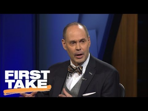 Ernie Johnson Interview On ESPN's First Take | First Take | April 5, 2017
