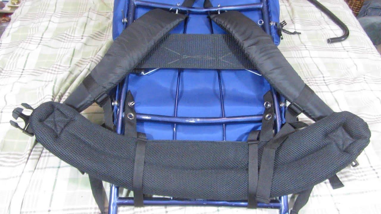 Vintage wild river external frame backpack restoration pt2 - YouTube