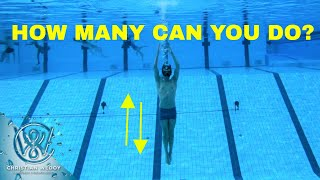 Underwater challenge - The Fire Man Rescue Diver Test