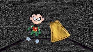 Teen Titans GO! Where's Robin's Cape?
