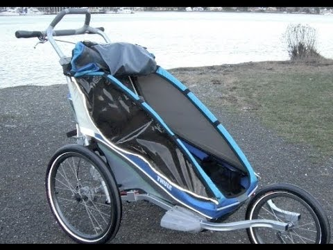 Thule Jogging Stroller Review - YouTube
